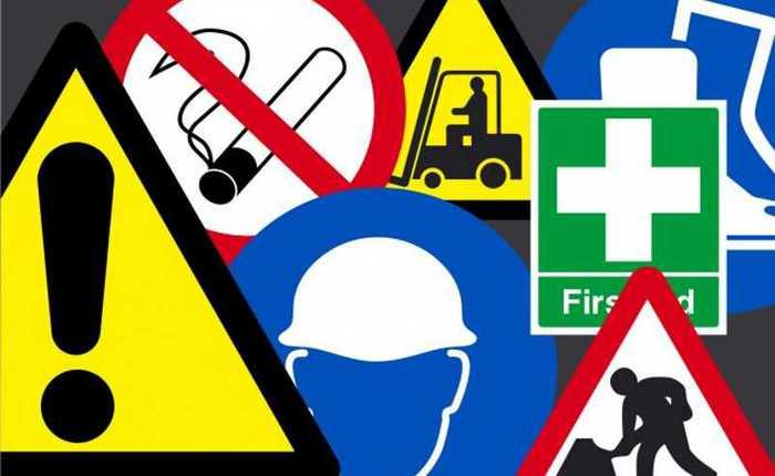 Bezpečnostné značenie na pracovisku